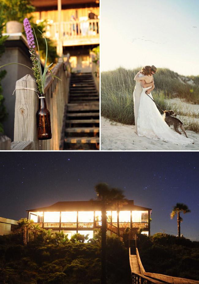 inspiración+para+decorar+boda+playa+informal