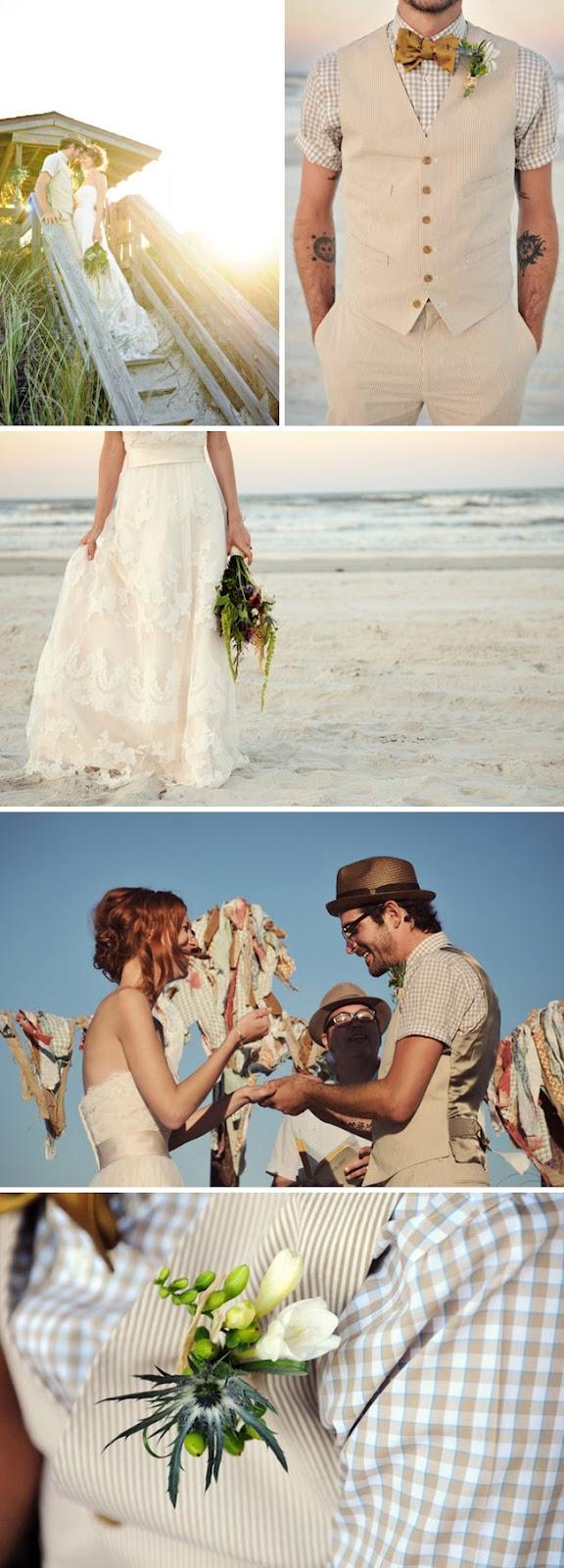 novio+informal+manga+corta+y+sombrero+idea+para+boda+en+la+playa+informal
